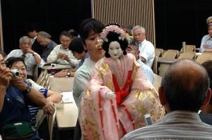 乙女文楽の舞